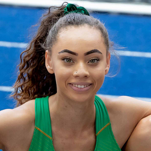 Top stuff: Davicia Patterson is a medal hope for U20 Euros