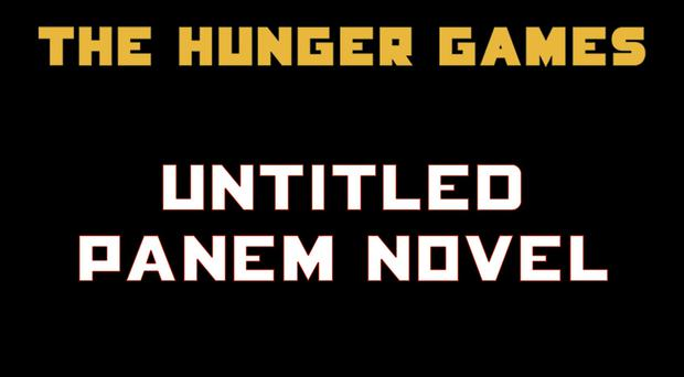 The cover of a new untitled Hunger Games novel by Suzanne Collins (Scholastic via AP)