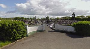 The object was discovered in St Coleman's Cemetery in Lurgan. Credit: Google