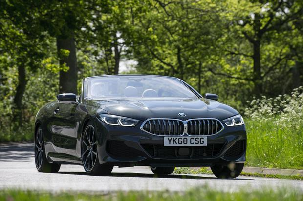 BMW M850i Convertible. See PA Feature MOTORING Road Test. Picture credit should read: BMW/PA. WARNING: This picture must only be used to accompany PA Feature MOTORING Road Test.