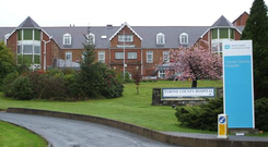 The former Tyrone County Hospital has gone on the market
