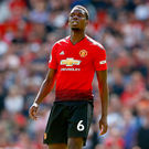 Brian Reid is a big fan of the Premier League football club Manchester United, where French international Paul Pogba is one of the stars