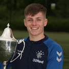 On show: Chris McKee will play for Gers against United