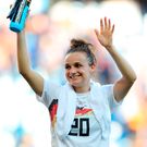 On target: Germany's Lina Magull