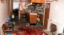 The aftermath of the Loughinisland shooting