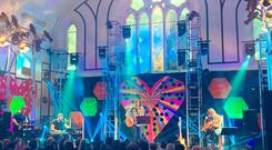 Snow Patrol preforming at Other Voices at the Duncairn centre.
