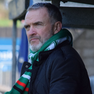 In charge: Glens' Mick McDermott