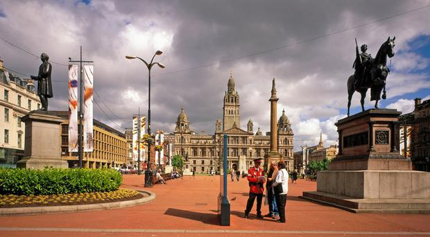 George Square, Glasgow Picture: VisitScotland/SCOTTISH VIEWPOINT