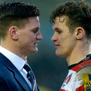 Sibling rivalry: Bath's Freddie Burns (left) and his brother, Billy, who plays for Ulster, will square up to each other in the Heineken Champions Cup