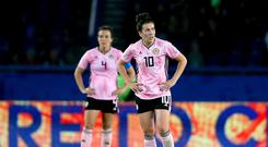 Leanne Crichton reflects on Scotland's elimination from the Women's World Cup (Richard Sellers/PA).