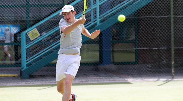 On course: Jordan McKeown is into the Ulster Open semis