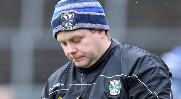 Big threat: Cavan boss Mickey Graham has taken plenty of notes on Michael Murphy, who can inspire reigning Ulster champions Donegal in Sunday's final