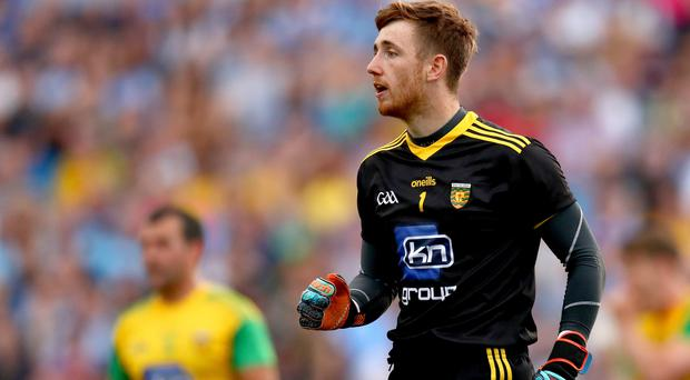Kick starter: Donegal keeper Shaun Patton has shown his worth