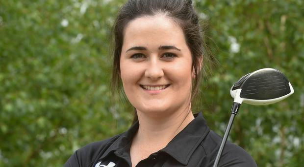 Keeping pace: Paula Grant is through to the matchplay stages