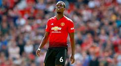 Wanted man: United's Paul Pogba looks set for a move