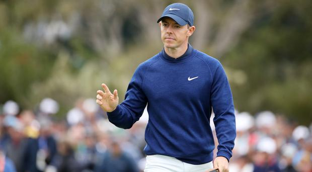 Home favourite: Rory McIlroy is relishing his Royal Portrush homecoming