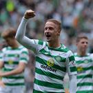 Back in action: Leigh Griffiths is back in the Celtic first-team fold after time out due to injury and personal issues