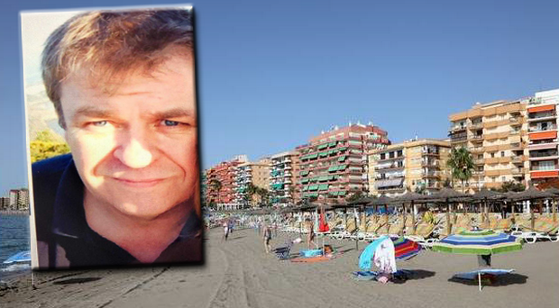 John Pender was on holiday in Spain with his family when he was attacked.