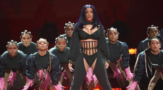Cardi B won album of the year at the 2019 Black Entertainment Television (BET) Awards (Chris Pizzello/Invision/AP)