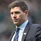Staying put: Steven Gerrard is happy with life at Rangers
