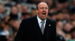Pastures new: Rafael Benitez will leave Newcastle when his contract expires on June 30 after not agreeing a new deal