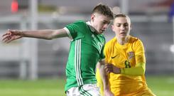 Northern Ireland U16 winger Conor Bradley will sign for boyhood club Liverpool.