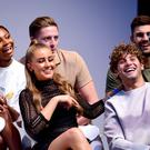 Last year's Love Island contestants including Samira Mighty, Dr Alex George, Adam Collard, Georgia Steele and Eyal Booker (Ian West/PA)