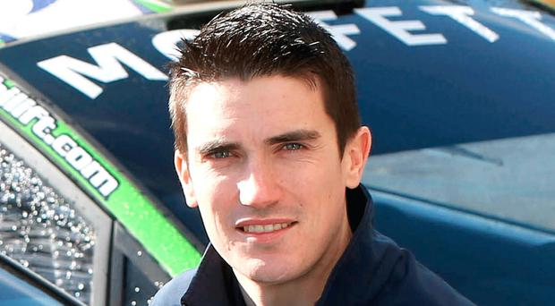 Finland chance: Craig Breen is back in WRC next month