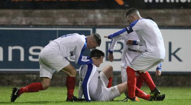 Limavady United were relegated from the Championship last season.