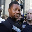 Cuba Gooding Jr leaves court in New York (AP Photo/Richard Drew)