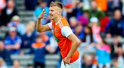 Hot stuff: Rian O'Neill's eye for scores can boost Armagh