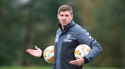 Turning heads: Steven Gerrard has been linked with the Newcastle job