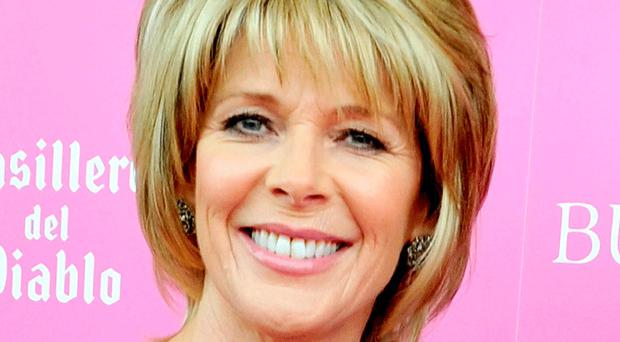 Grieving: Ruth Langsford