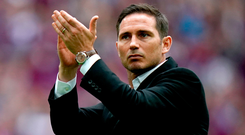 In talks: Frank Lampard has been excused from Derby training to speak with Chelsea about becoming manager
