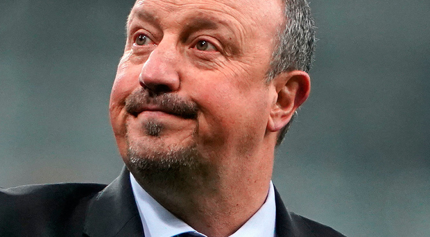 Exit door: Rafael Benitez says his vision was not shared