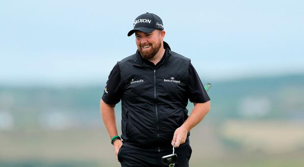 Home favourite: Shane Lowry is the highest ranked Irish player at Lahinch