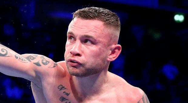 Eyes on the prize: Carl Frampton