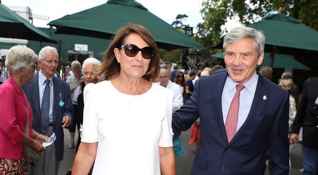 Carole and Michael Middleton (Philip Toscano/PA)