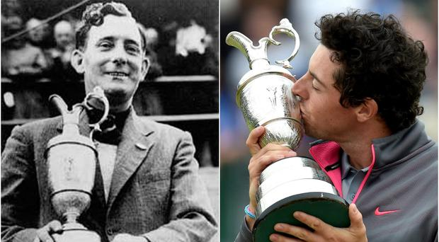 Fred Daly got his hands on the Claret Jug in 1947 and Rory McIlroy became the fourth Irishman to win The Open in 2014.