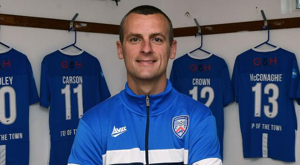 Oran Kearney is back in charge at Coleraine. Photo Colm Lenaghan/Pacemaker Press