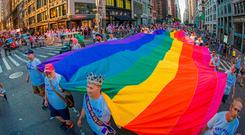 The LGBTQ Pride march in New York earlier this month which highlighted events marking five decades of pride following the 1969 Stonewall Inn police raid that sparked the modern-day gay rights movement