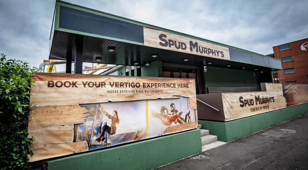 Spud Murphy's has opened up in the Titanic Quarter