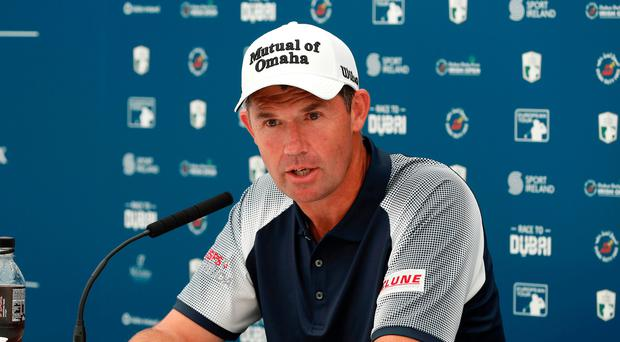 Been there: Padraig Harrington has won two Open titles
