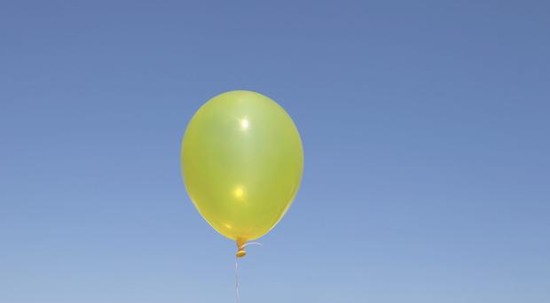 The balloon floated from Belfast to Scotland. (Stock image)