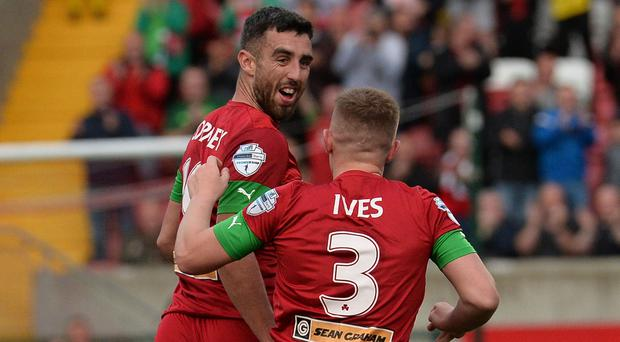 Joe Gormley was against the star for the Reds.
