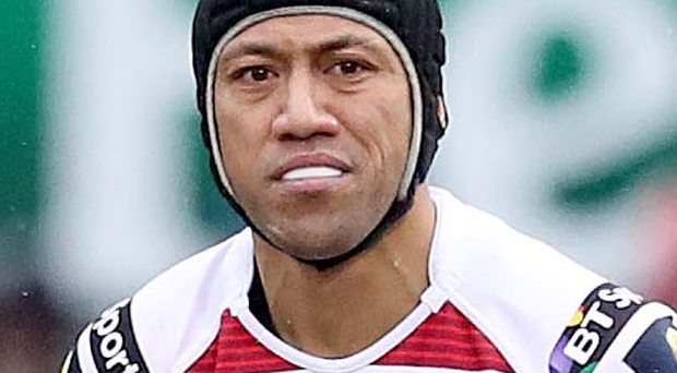 Big impact: Aussie Christian Leali'ifano in action for Ulster