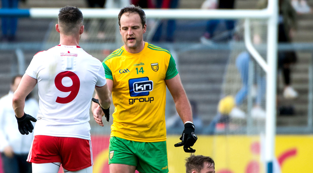 Down, but not out: Tyrone suffered the disappointment of an Ulster Championship semi-final defeat to Donegal