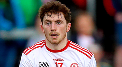 Up for it: Rory Brennan relishes a key role for Tyrone tomorrow
