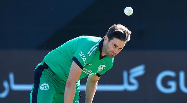 Wickets: Tim Murtagh was in top form against Zimbabwe at Stormont