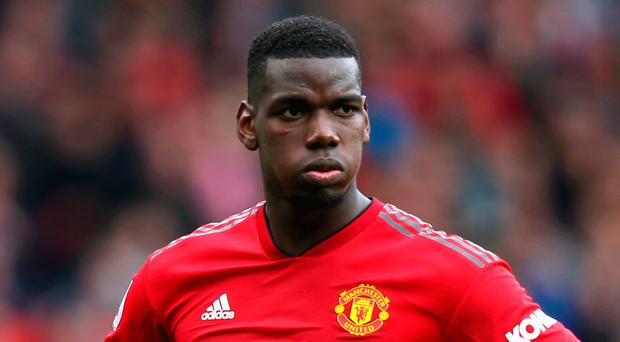 Wanting out: Paul Pogba